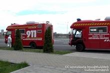 Автомобили медицинского обеспечения СС МЧС осуществили 21 выезд