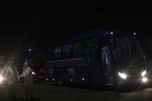 ԱԻՆ ավտոբուսներով քաղաքացիները մեկուսացման վայրեր են տեղափոխվել