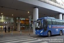 178 пассажиров были доставлены в места изоляции на автобусах МЧС