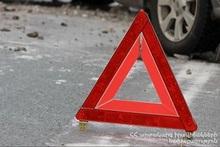 ДТП в городе Горис: пострадавших нет