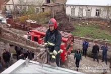 Пожар в селе Каракерт: пострадавших нет