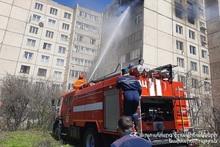Пожар в квартире: есть пострадавший