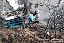 Автомобиль полностью сгорел: есть погибший