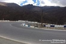 В Армении автодороги в основном проходимы