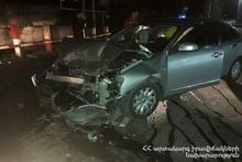 ДТП на улице Эзраса Асратяна: есть пострадавшие