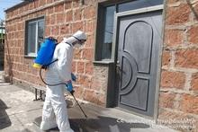 С 20-21 мая МЧС провело 2266 мероприятий по дезинфекции