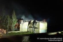 Пожар на даче: пострадавших нет
