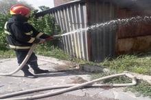 Пожар в городе Чаренцаван: пострадавших нет