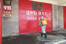 За последнюю неделю МЧС провело 7988 мероприятий по дезинфекции