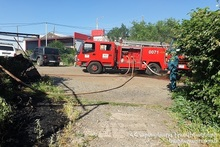 Fire in Andraniki street