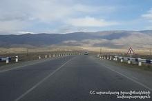 ՀՀ տարածքում ավտոճանապարհներն անցանելի են․ ժամանակավոր փակ է լինելու Վանաձոր-Ալավերդի ճանապարհահատվածը