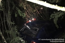 Running down accident on the 48th km of Yerevan-Sevan roadway