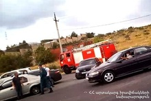 RTA near the TV Tower of Yerevan city: there were casualties and a victim