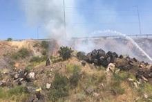 Բաղրամյան և Սասունիկ գյուղերի միջնամասում այրվել է մոտ 15 հա խոտածածկ տարածք