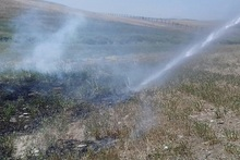 Firefighters extinguished fires broken out in grasslands with a total area of about 36․2 ha