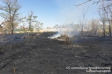Fire hearths broken out on Romanos Melikyan street were extinguished