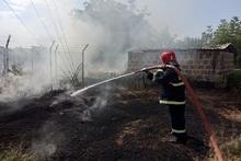 Пожарные-спасатели потушили пожары на травяных участках общей площадью около 21.1 га
