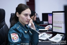 Fire broken out in Tairov village was extinguished