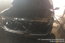 Пожар в автомобиле