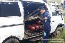 ДТП на автодороге Апаран-Варденис: есть пострадавший