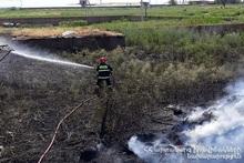 Пожар в селе Норамарг
