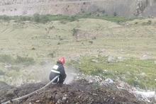 Пожарные-спасатели потушили пожары на травяных участках общей площадью около 25.1 га