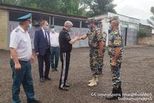 Министр по чрезвычайным ситуациям Феликс Цолакян совершил рабочую поездку в Тавушский регион