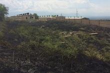 Пожарные-спасатели потушили пожары на травяных участках общей площадью около 9 га