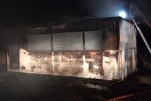 Այրվել է չշահագործվող վագոն-տնակ
