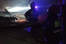 Այրվել են տանիքի փայտյա կառուցատարրեր