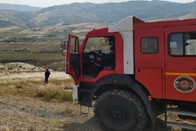 Firefighters extinguished fires broken out in the area of about 61,2 հa