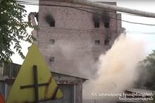 28-го июля будут продолжаться взрывные работы здания ООО «Дзюник сарнаран»