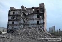 Пожарные-спасатели осуществили дежурство во время взрывных работ здания ООО «Дзюник сарнаран»