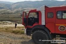 За неделю было зарегистрировано 117 пожаров на травяных участках Еревана и регионов РА