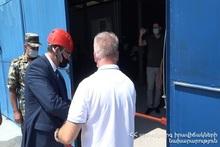 В Российско-армянском центре гуманитарного реагирования открылась учебная территория