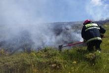 Пожарные-спасатели потушили пожары на территории площадью 2.5 га