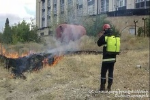 39 subdivisions of the Rescue Service of the MES implemented controlled fire
