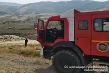 117 fires were registered in the Provinces and Yerevan of RA during the week