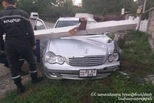 ДТП на автодороге Иджеван-Берд: пострадавших нет