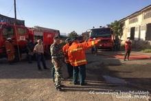 Пожар, вспыхнувший на проспекте Арцаха был потушен на месте происшествия присутствовал министр Ф. Цолакян