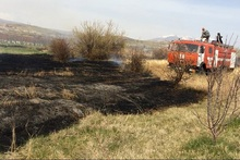Firefighters extinguished fires broken out in the area of about 12.2 հa in total