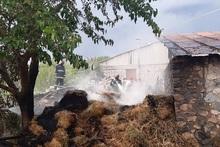 Բաղրամյան գյուղում այրվել է անասնակեր