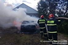 Fire in Jrarat village