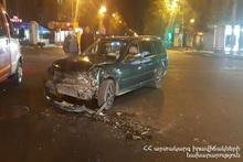 ДТП на перекрестке проспекта Комитаса и улицы Вагаршяна