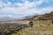За неделю было зарегистрировано 96 пожаров на травяных участках Еревана и регионов РА