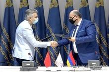 New memorandum was signed at the MES