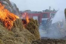 Ստեփանավան քաղաքում այրվել է մոտ մեկ տոննա անասնակեր