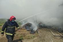 Արգավանդ գյուղում այրվել է մոտ 350 հակ անասնակեր