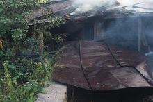 Այրվել են ծածկի փայտյա կառուցատարրերը և մոտ 70 հակ անասնակեր