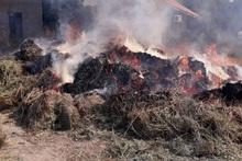 Արարատ գյուղում այրվել է մոտ 130 հակ անասնակեր